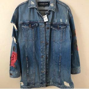 Express Denim Boyfriend jacket